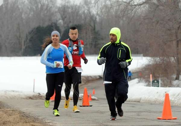 Runners from across the region participate in an