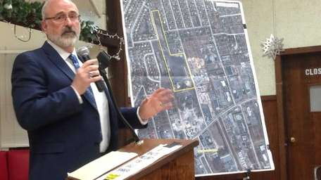 Smithtown environmental protection director Russell Barnett discusses changes