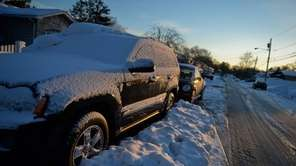 Another day after another snowstorm leaves cars to