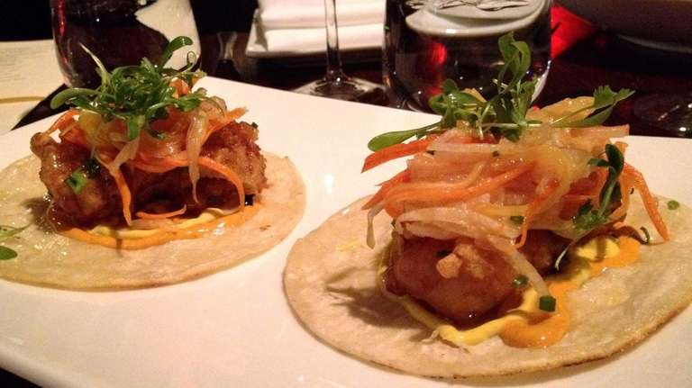 Fish tacos with Thai flavors are one of