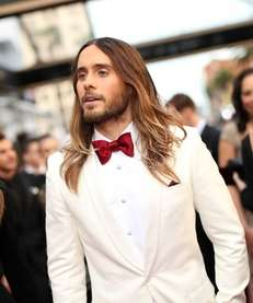 Jared Leto (accompanied by his long, luscious locks)