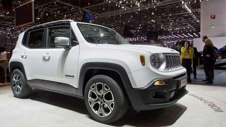 The New Jeep Renegade is among the small
