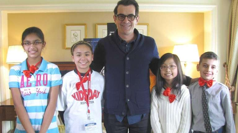 Actor Ty Burrell, the voice of Sherman, for