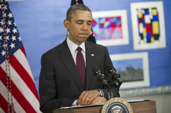 President Barack Obama comments on the situation in