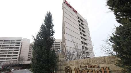 The Long Island Marriott in Uniondale -- the
