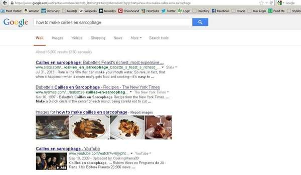 "A screen shot of the Google search, ""how"