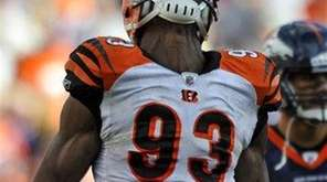 MICHAEL JOHNSON Defensive end, Cincinnati Bengals UPDATE, March