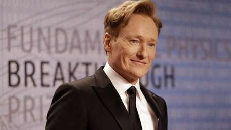 Conan O'Brien announced Tuesday, March 4, 2014, on