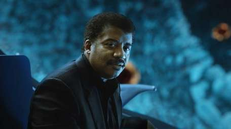 Bronx-born Neil deGrasse Tyson, the director of the
