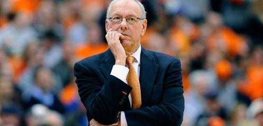 Syracuse head coach Jim Boeheim on March 4,