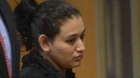 Santos Elena Ruiz Solano, 26, of Central Islip,