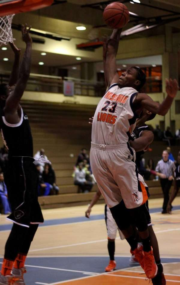 Nassau Community College men's basketball player Jamail Stanley