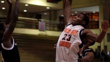 Nassau Community College men's basketball player Jamail Stanley