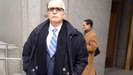 Former Long Island Rail Road worker Fred Catalano,