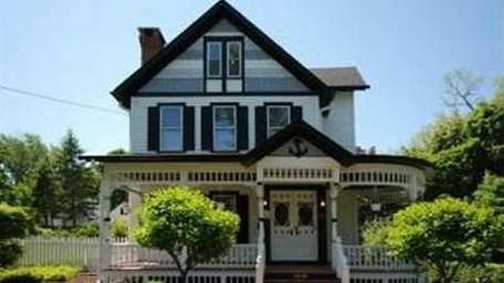 This restored Victorian home on Barnum Avenue in