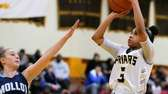 St. Anthony's Charise Wilson pulls up for the