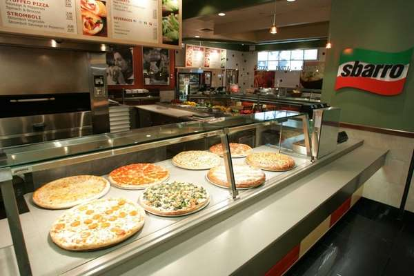 Sbarro, the Melville-based international pizza purveyor, has three
