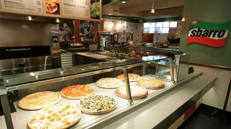 Sbarro, the Melville-based international pizza purveyor, has three