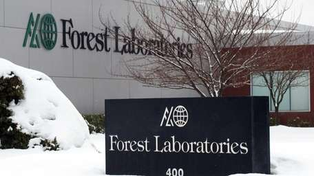 A Forest Laboratories facility on Commack Road in