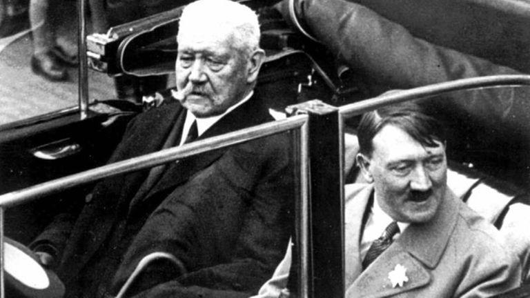 This May 1, 1933 file photo shows German