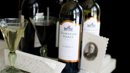 The Downton Abbey wines, a white and a