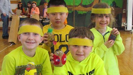 Students at James H. Boyd Intermediate School took