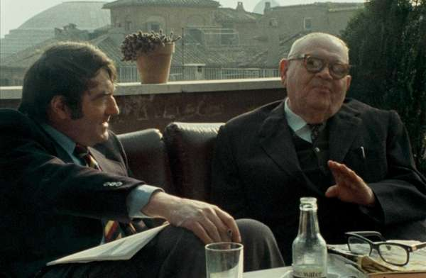 "Claude Lanzmann and Benjamin Murmelstein ""The Last of"