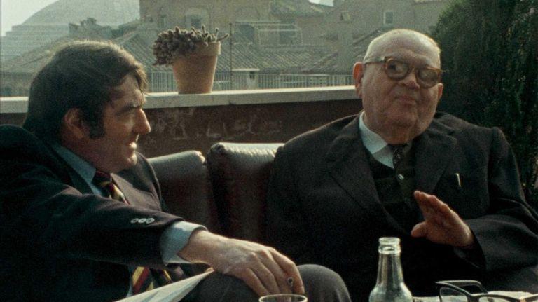 Claude Lanzmann and Benjamin Murmelstein