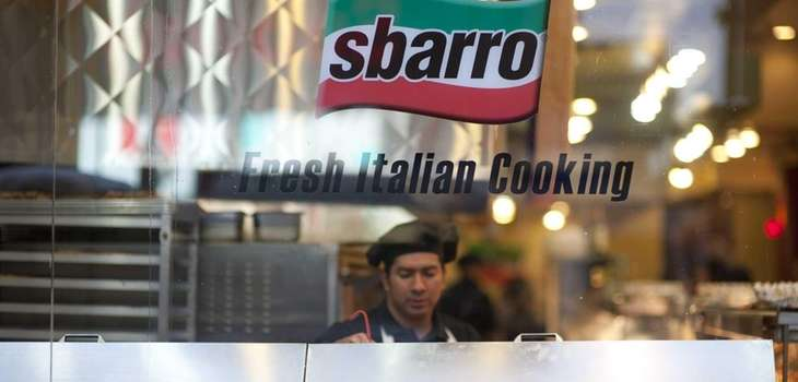 Sbarro, the Melville-based pizza chain, filed Monday for