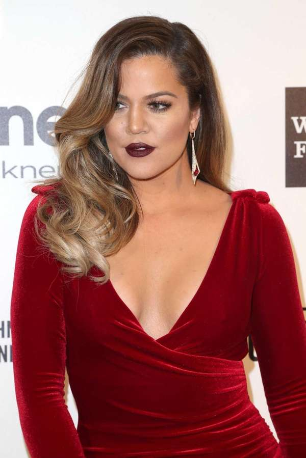 Khloe Kardashian attends the 22nd Annual Elton John