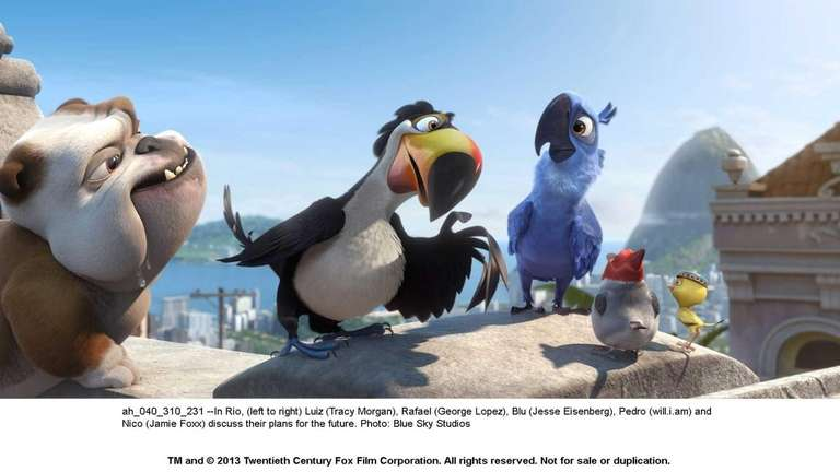 The animated birds are back in