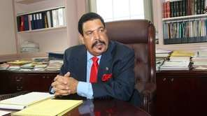 Nathaniel Clay Jr., the former longtime superintendent of