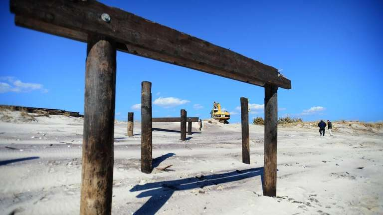 The remains of the Robert Moses State Park,