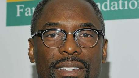 Isaiah Washington, who played Dr. Preston Burke on