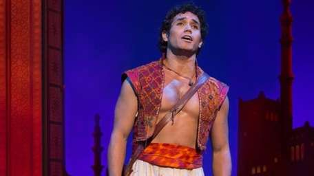 Adam Jacobs performing in the title role of