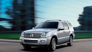 The 2010 Mercury Mountaineer.