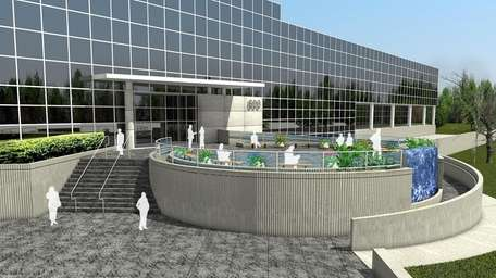 A rendering of the $5 million renovations proposed