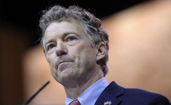 Sen. Rand Paul, R-Ky., speaks at the Conservative