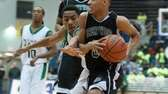 Brentwood's Michael Almonacy drives to the basket past
