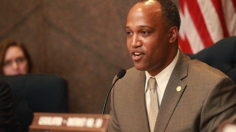 Presiding Officer DuWayne Gregory (D-Amityville) sponsored the bill