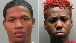 Raymond Wade, left, was arrested by Homicide Squad