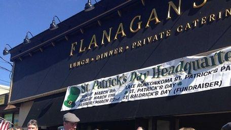 Flanagan's is a new Irish pub in Lake