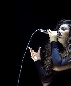 Lorde performs on December 8, 2013 in Los