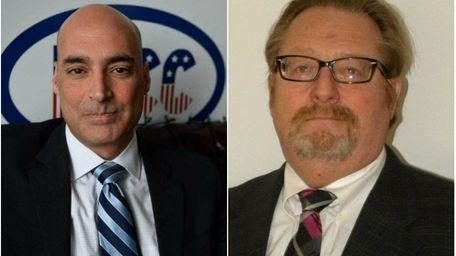 Left: Glenn Ingoglia, president of the Island Park