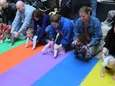 The Smith Haven Mall's Diaper Derby on March