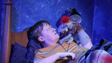 Steven Boyer and Tyrone in a scene from