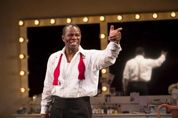 """SATCHMO AT THE WALDORF"" (Westside Theatre, 407 W."
