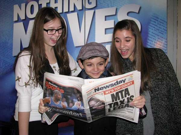 Kidsday reporters Stephanie Cefalo and Diana Hadjiyane from