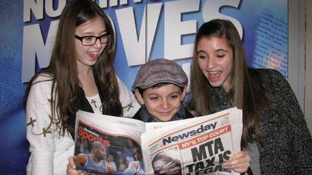 Kidsday reporters Stephanie Cefalo and Diana Hadjiyane from