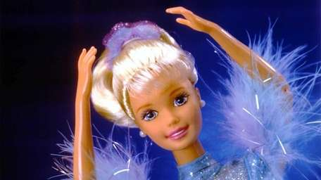 Olympic Ice Skater Barbie, one of the older